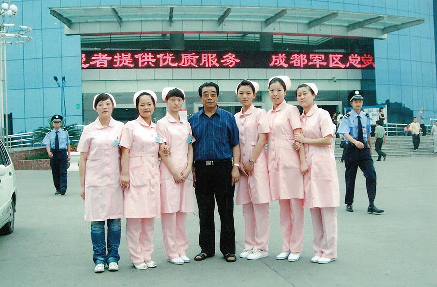 毕业生在成都军区总医院就业